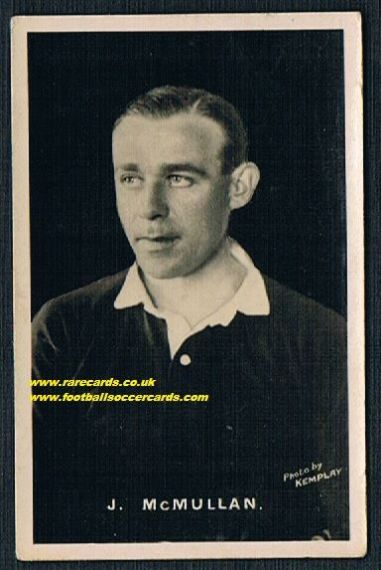 1921 McMullan Partick Thistle  soFBF